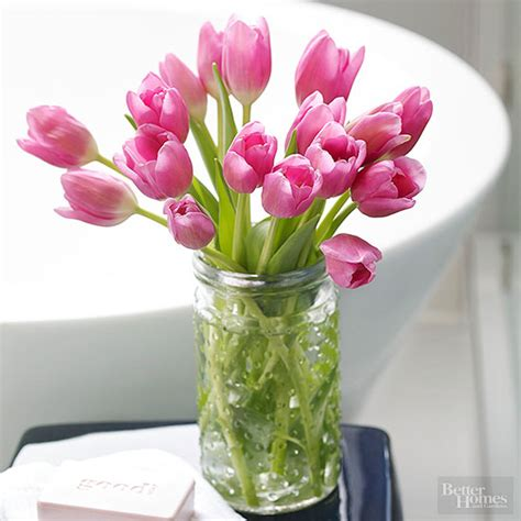 Putting Tulips In A Vase by How And When Do I Cut Tulips To Put Them In A Vase