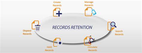records retention module document management software