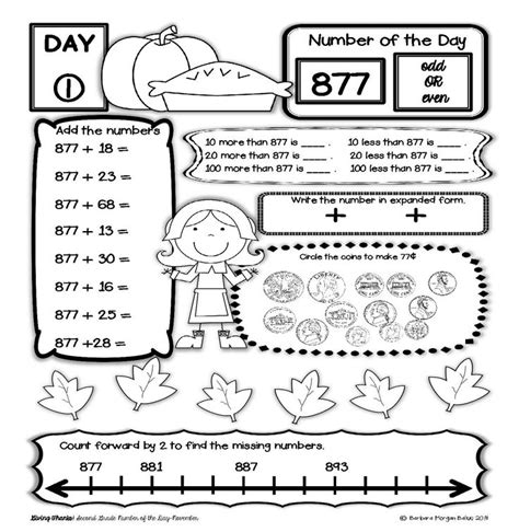 printable math review worksheets math review for second graders 2nd grade math review