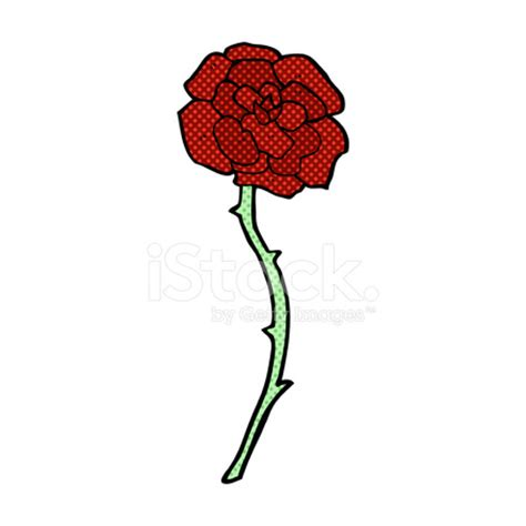 rose tattoo comic cartoon stock vector freeimages com