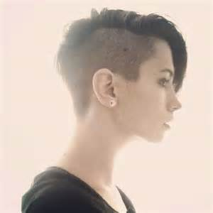 soft butch hairstyles 40 half shaved pixie cut pixie cut 2015