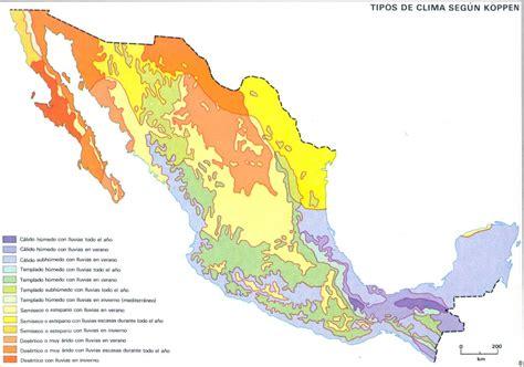 geografia de mexico mapa de orografia de mexico