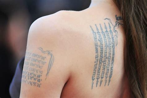 tattoo ali schiena i tatuaggi delle star i tattoo pi 249 belli delle celebrity