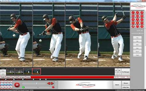 baseball swing analyzer motionview video analysis software and systems for baseball