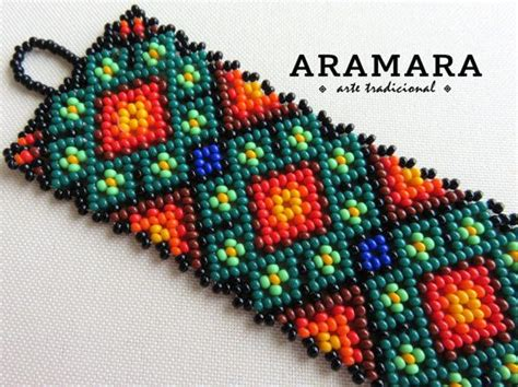 huichol beading tutorial 288 best уичоль браслеты images on bangle