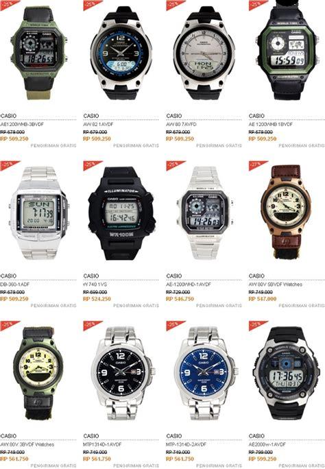 Jam Tangan Casio Harga Dan Spesifikasi harga jam tangan pria merek casio harga mulai 300 ribuan jeripurba