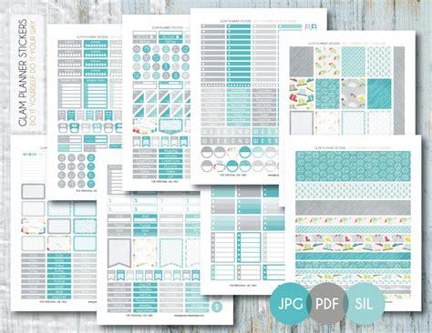 printable erin condren life planner free monthly printable planner stickers set rainy day