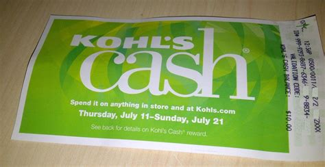 Can You Use Kohl S Cash To Buy Gift Cards - kohl s credit card get kohl s cash and kohl s discounts penny pincher journal