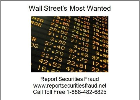 title 18 united states code section 371 wall street s most wanted report securities fraud barry