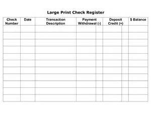 Free Personal Check Template by Checkbook Register Free Printable Check Register