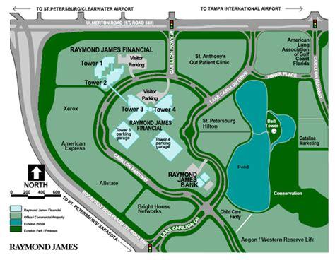 raymond james financial map  directions raymond james