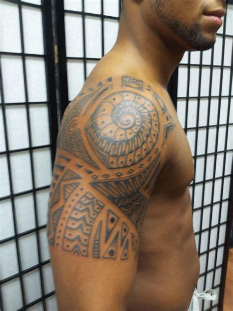 jersey tattoo jersey tribal polynesian style