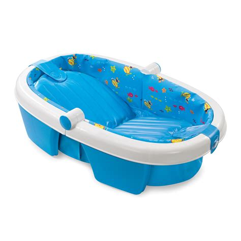 infant bathtub summer infant fold away tub