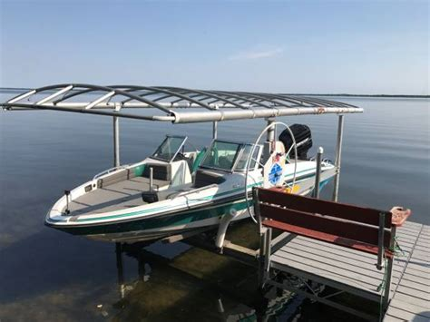 boat lifts for sale fargo nd 1994 procraft 200 combo w lift 9500 ottertail boats
