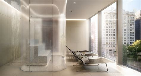 steam room nyc manhattan new york penthouse apartment for sale at one on 23 east 22nd