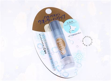 Shiseido Indonesia shiseido water in lip balm review indonesia and