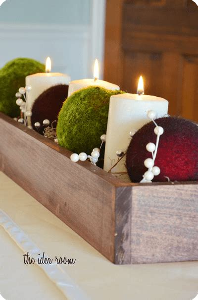 christmas table centerpieces to make table centerpiece diy decor i nap time