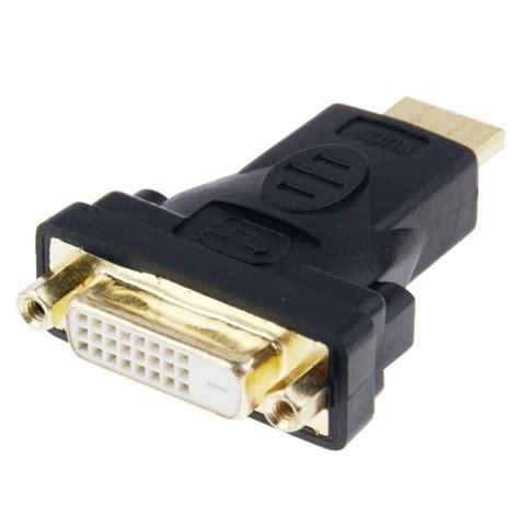Adapter Konverter Hdmi Ke Hdmi 19 Pin Gold Plated gold plated hdmi 19 pin to dvi 24 1 pin adapter alex nld