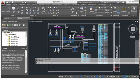 tutorial for autocad autocad electrical 2015 tutorial command line basics
