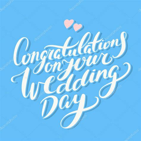 Wedding Congratulations Vector by Congratulations On Your Wedding Day Stock Vector