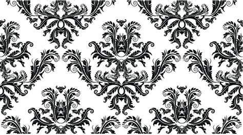 pattern photoshop black and white free damask seamless pattern free vector site download