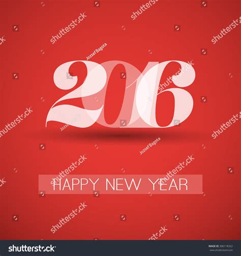 new year card template 2016 happy new year greeting card creative design template