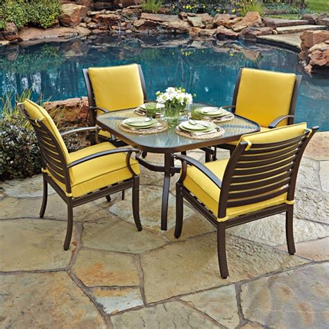 patio dining sets for 4 woodard patio dining set for 4 wd set1