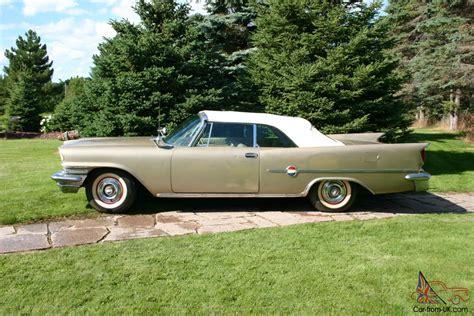 1959 chrysler 300 for sale 1959 chrysler 300 e convertible surviror