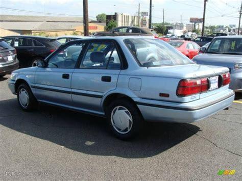 Toyota Corolla 1992 1992 Blue Pearl Metallic Toyota Corolla Dx Sedan