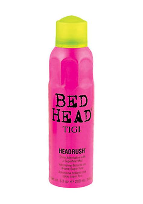 bed head shine spray tigi bed head headrush shine spray 200ml hairtrade