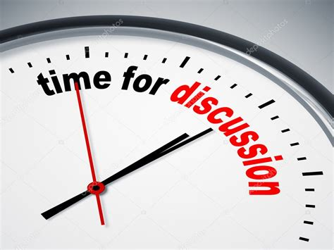 Time To time for discussion stock photo 169 magann 5831028