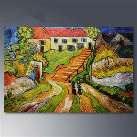 Landscape Paintings Gogh Aliexpress Buy Painted Canvas Paintings