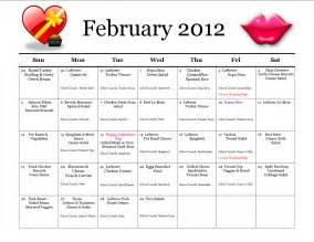 Thrifty mom in boise monthly meal planner february