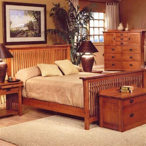 spindle bed trend manor mission spindle bedroom set