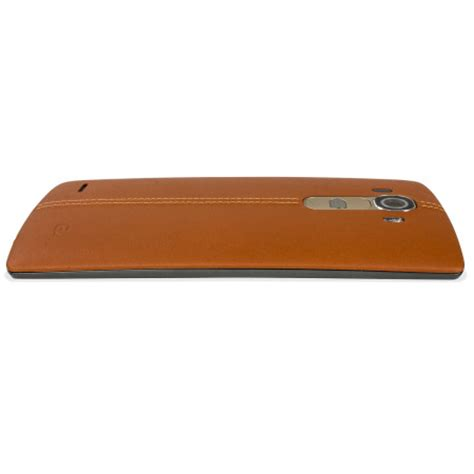 Brown Covers by Lg G4 Brown Leather Replacement Back Cover