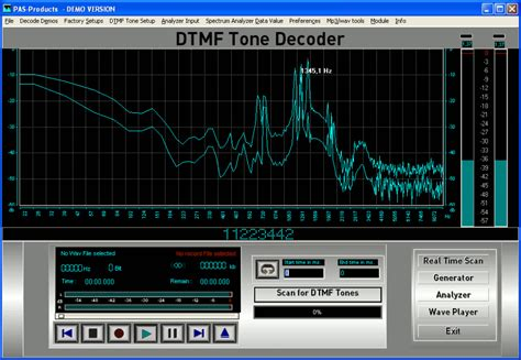dtmf tone decoder audio technicians forensic technicians