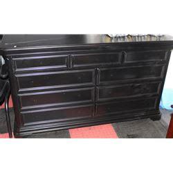 Black 9 Drawer Dresser by New Black 9 Drawer Dresser No Handles Kastner Auctions