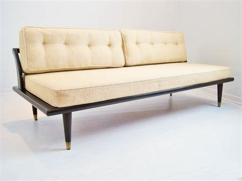 asian couch mid century asian inspired daybed sofa mix vintage