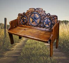 texas star bench 1000 images about new ranch entry way on pinterest