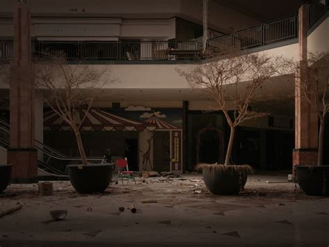 ghostly images of abandoned malls houses and buildings by photos inside chicago s abandoned mall business insider