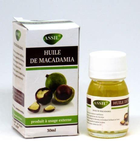 huile macadamia cuisine huile de macadamia 30 ml cosm 233 tique sur iqrashop be