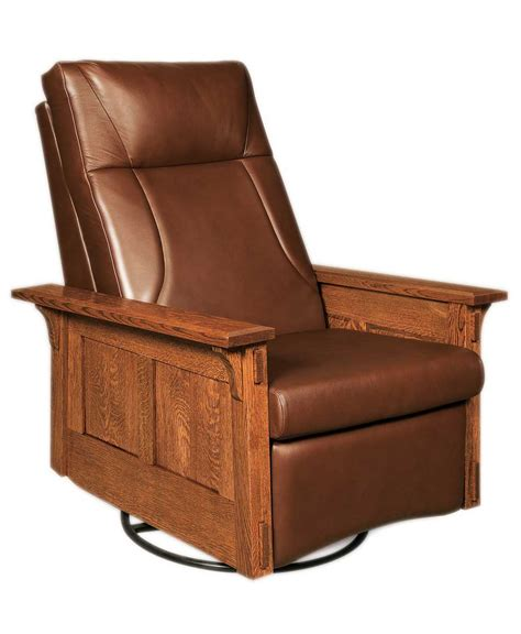 swivel rockers recliners mccoy rocker recliner swivel amish direct furniture