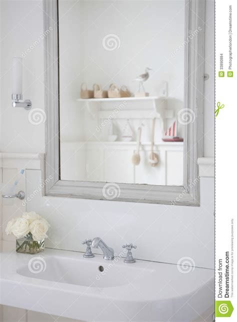 mirrors over bathroom sinks mirror above bathroom sink stock photo image of english
