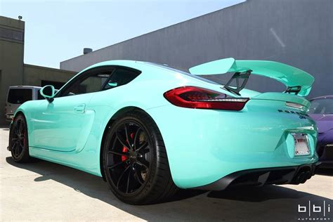 porsche mint green spotlight mint green porsche cayman gt4