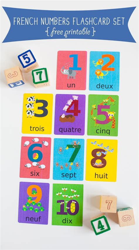 printable french numbers 1 10 1000 ideas about free printable numbers on pinterest