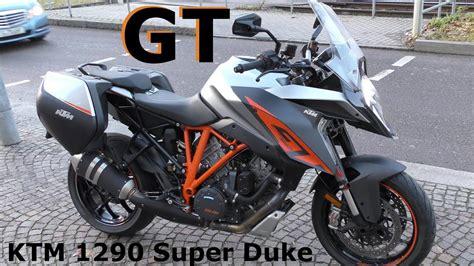 Motorrad Zeitschrift Test by Ktm 1290 Duke Gt 2017 Test Motorrad Der