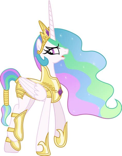 my little pony princess celestia princess celestia going to war by vector brony on