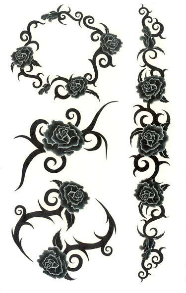 rose and thorn vine tattoos 10 ideas about on skeleton