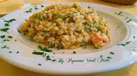 risotto con i fiori di zucchina risotto con fiori di zucca zucchine e gamberi peperoni