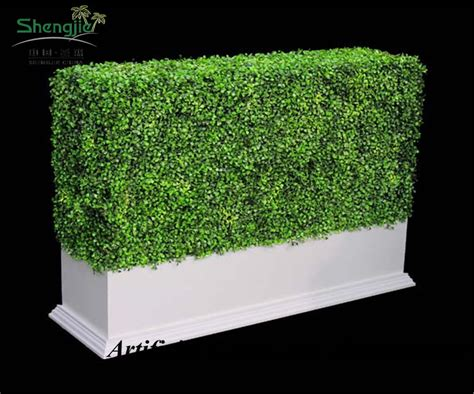 Artificial Boxwood Hedge Mat by Artificial Boxwood Mat For Garden Decoration Artificial Plants Wall Uv Resistant Artificial